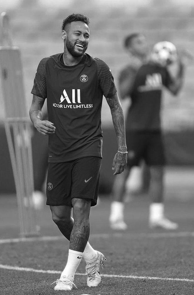 Charity for Porta - Neymar